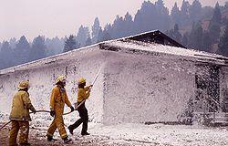 Ứng dụng bọt chữa cháy foam
