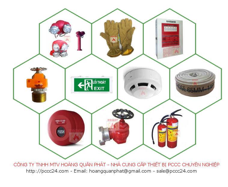 nhà cung cấp sỉ lẻ thiết bị pccc tại TPHCM và các tỉnh lân cận