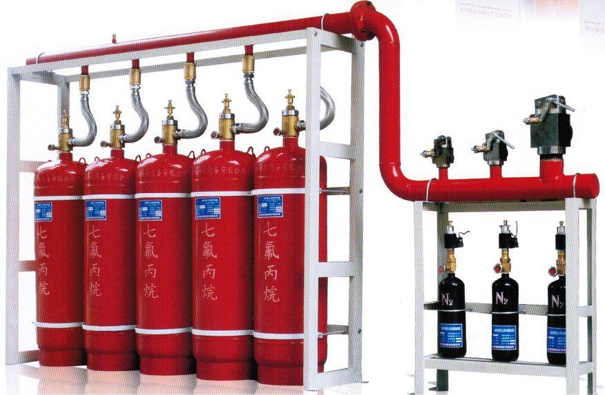 sơ đồ cơ bản hệ thống chữa cháy tự động